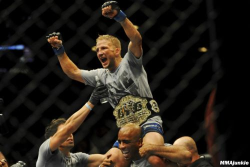 T.J. Dillashaw explains why he used EPO; Chael Sonnen admits he took same drug