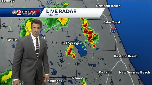 Afternoon storms continue Tuesday