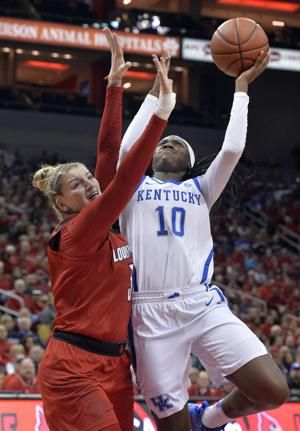 No. 5 Louisville survives rival and No. 19 Kentucky 80-75