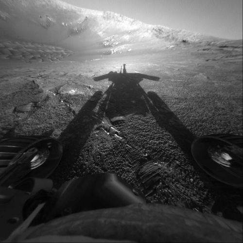 After remarkable run on Mars, Opportunity rover falls silent