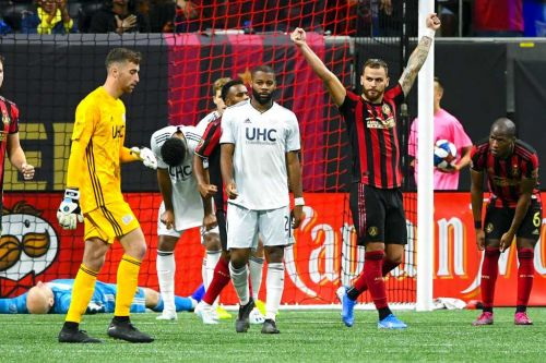 Revolution fall to Atlanta in opening-round game of MLS playoffs
