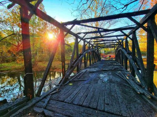 Historic bridge in Perry County destroyed by fire