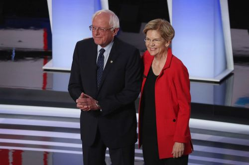 Warren says Sanders told her a woman couldn't win the presidency