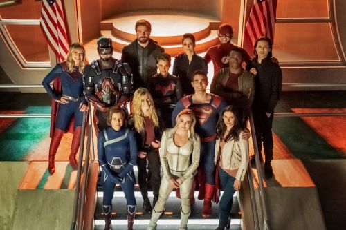 The CW's 'Crisis on Infinite Earths' DC superhero crossover is spectacular