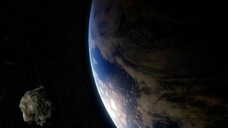 Incoming asteroid to pass between Earth and the moon, football field-sized space rock to follow