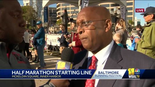 Mayor: Baltimore Running Festival shows what's great about city