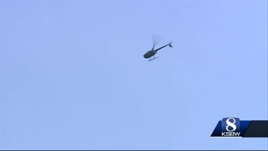 Expect helicopters flying over Santa Cruz mountains this weekend