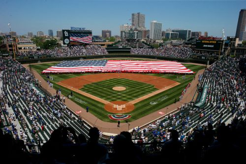 For the first time since September of 2019, there was full capacity for the Cubs at Wrigley Field