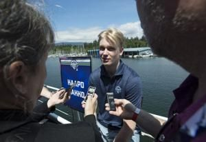 Kakko ready for answer if he's No. 1 or No. 2 in NHL draft