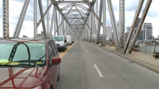All lanes of Clark Memorial Bridge reopen after completion of paint project
