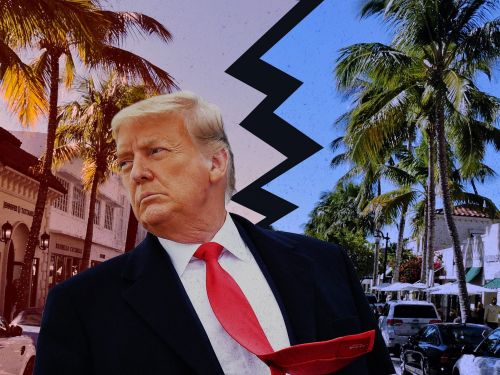 Inside the glitzy, fractured world of Palm Beach, where Trump's Mar-a-Lago move rankles locals but the wealthy are fighting over mansions anyway