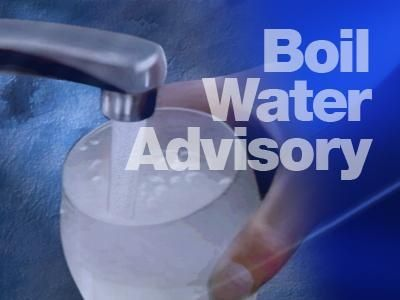 Boil water advisory issued in area of Anderson County