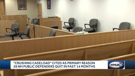 'Crushing caseload' cited as primary reason NH public defenders have quit