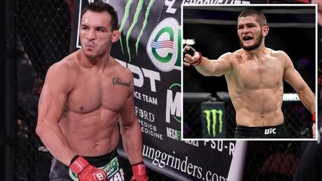 Backup plan: Three-time Bellator champ Michael Chandler signs with UFC, immediately drafted in as backup for Khabib-Gaethje fight