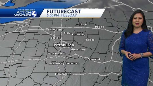 Rain Showers Clearing and Windy Today