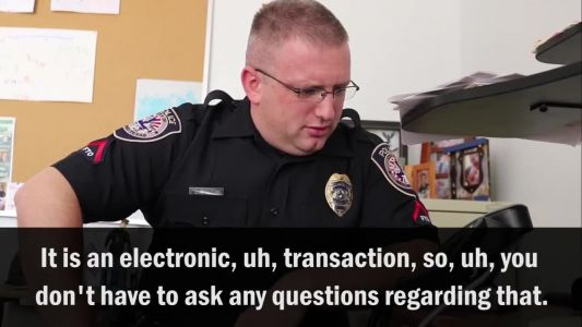 WATCH: IRS scammer mistakenly calls police officer