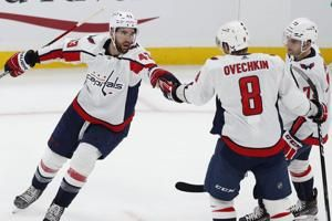 The Latest: NBA's Wizards, NHL's Caps to have fans in April