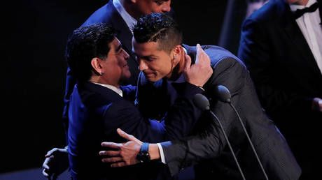 Cristiano Ronaldo pens touching tribute to 'friend' Diego Maradona after Argentina icon dies aged 60