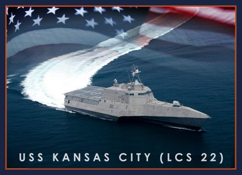 USS Kansas City christened Saturday in Alabama