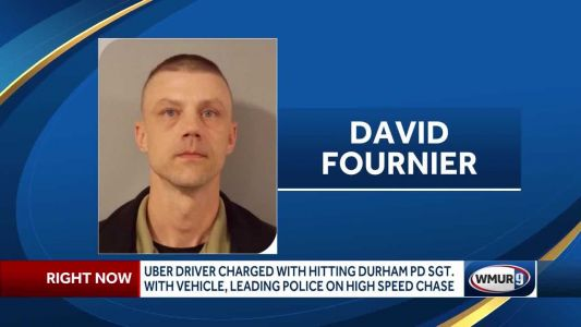 NH Uber driver accused of hitting police sergeant with vehicle