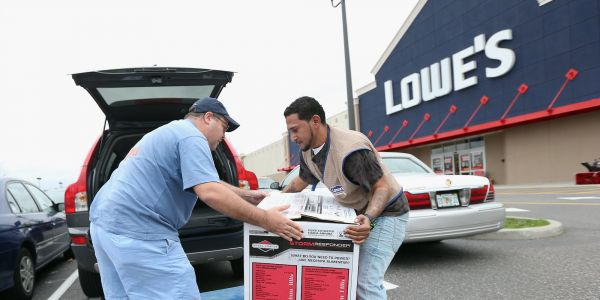 Lowe's jumps after announcing plans to revamp its underperforming Canadian operations