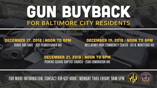 Baltimore police gun buyback offers cash for firearms