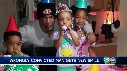 Elk Grove man wrongfully convicted of murder gets new smile