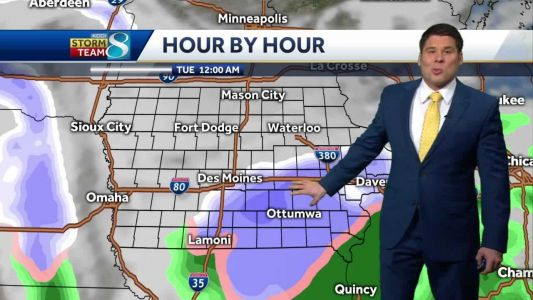 Winter storm watch greets Iowans this week
