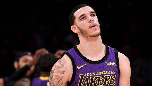 Lonzo Ball injury update: X-rays are negative for Lakers guard
