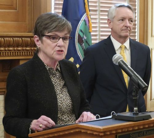 Kansas governor withdraws nomination for state appeals court