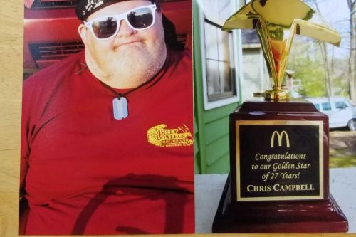 Man with Down syndrome, honored for working at same McDonald's for 27 years, dies