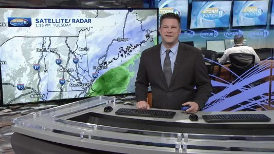 Watch: Snow moves out