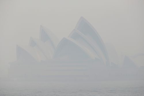 Sydney choked by hazardous haze from Australian bush fires