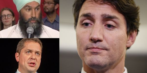 'He has to answer for it': Canadian politicians pile on Justin Trudeau over his 'brownface' Aladdin outfit from 2001
