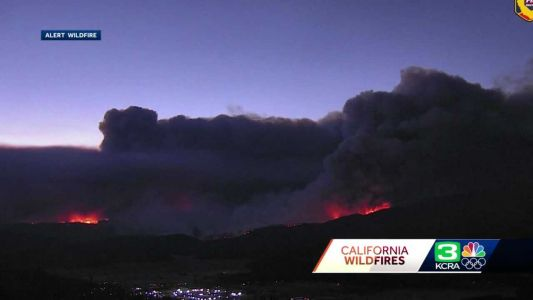 Fly Fire: New wildfire sparks in Plumas County, prompting evacuations