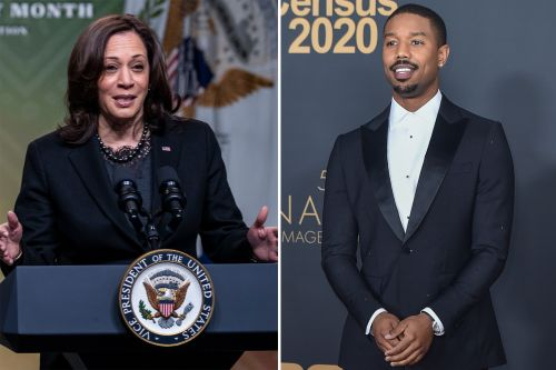 NBA All-Star game to open with chat between Michael B. Jordan, Kamala Harris