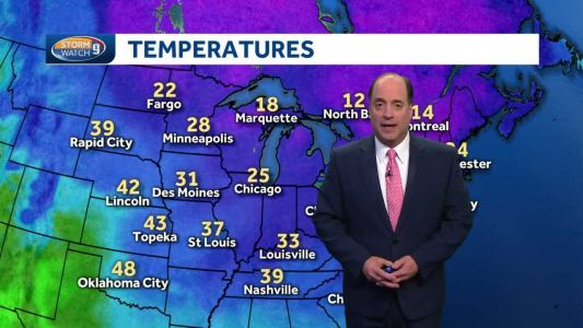 Update: Record cold begins moving out