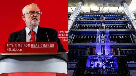 Corbyn brands cyber attack as 'suspicious' after UK Labour Party's digital systems targeted during election campaign
