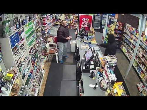 New surveillance video of Dedham armed robbery released by police