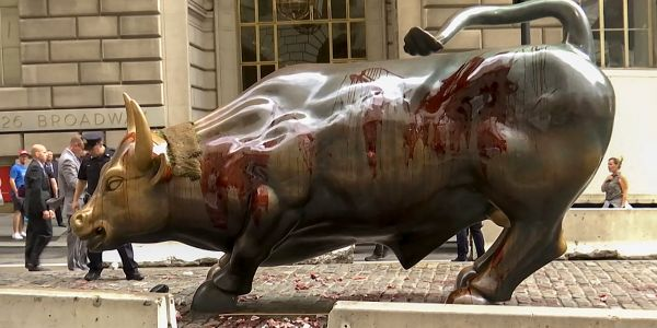 NYC finalizing plans to move Wall Street Bull statue