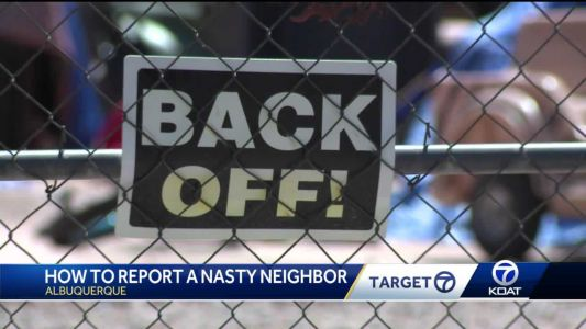 APD, city leaders say there are steps you can take if your neighbor isn't neighborly