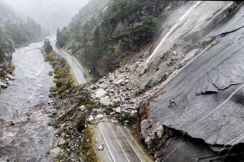 PHOTOS: West Coast getting walloped by heavy winds, torrential rain and dangerous flooding