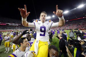 LSU QB Joe Burrow wins Heisman Trophy in landslide vote