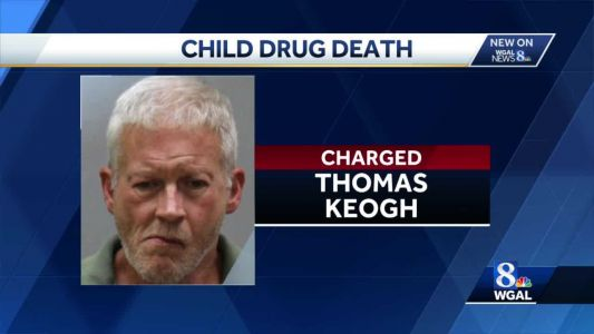 Connecticut man charged in Pennsylvania child's drug death