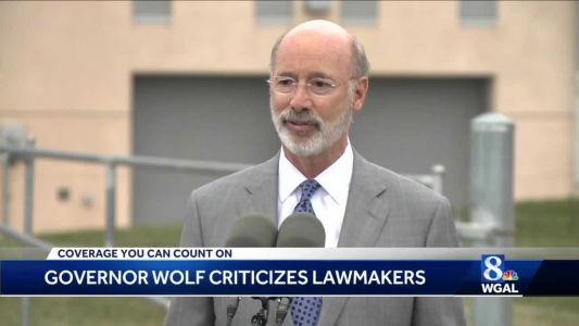 Governor accuses Republican lawmakers of pushing bills that put Pennsylvanians at risk