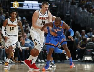 Jokic has triple-double, Nuggets beat Thunder 110-102