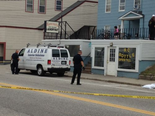 11-year-old twins watch as mother stabbed to death outside laundromat