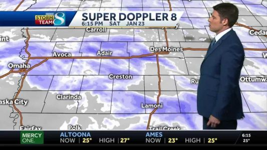 More snow continues to build
