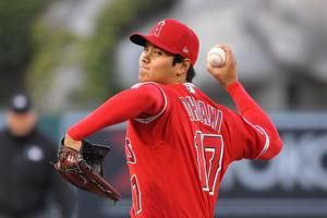 Ohtani throws 4 shutout innings, Trout, Pujols homer for LA