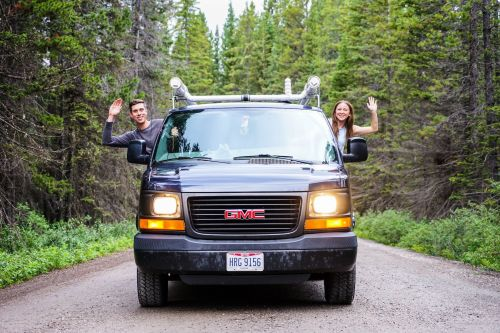 My boyfriend and I spend just $24,000 a year by living in a van - here are all the things we save money on